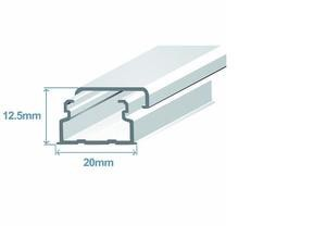 Миниканал 20х12,5 (метр) Efapel 10030 CBR