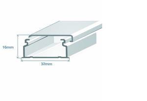 Миниканал 32х16 (метр) Efapel 10040 CBR