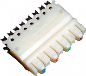 4 парный 110 коннектор категория 5e SINELLS 110C-M-4P