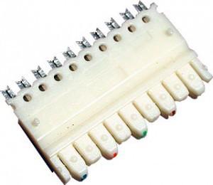 5 парный 110 коннектор, категория 5e SINELLS 110C-M-5P