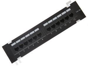 Патч-панель 12 портов RJ-45, категория 5е (настенная) SINELLS MFG-265dual