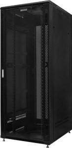 Шкаф телекоммуникационный 19 42U, 600x800x2085 мм, стеклянная дверь, GYDERS GDR-426080B