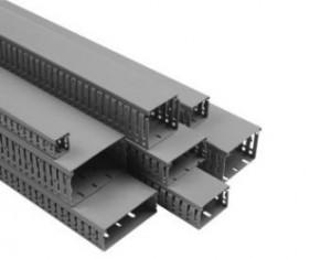 Короб перфорированный 60х60 в комплекте с крышкой (метр) Efapel 14040 CCZ
