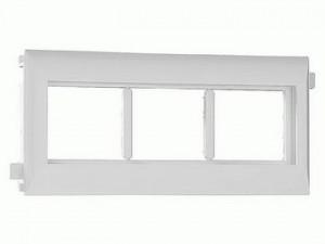 Суппорт тройной под модули 45х45 для крышки 60 мм  Efapel 10953 ABR