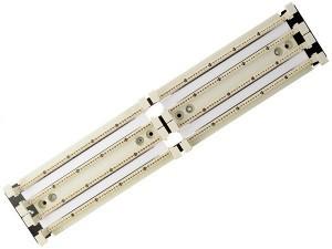 """200 парная кросс-панель 110 типа, 19\"""" 2U (без модулей) SINELLS CF110-192-200"""