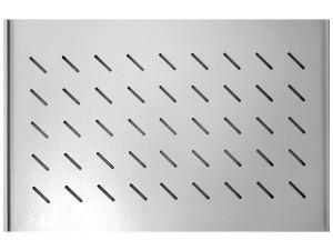 Полка бокового крепления 470х500мм, серая (для шкафов глубиной 800 мм и стоек глубиной 600 мм), GYDERS GDR-BSS-500G