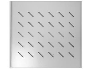 Полка бокового крепления 470х700мм, серая (для шкафов глубиной 1000 мм и стоек глубиной 800 мм), GYDERS GDR-BSS-700G