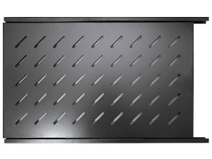 Полка выдвижная для шкафов глубиной 1000мм, 1U, черная, GYDERS GDR-SS-1000B