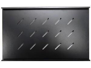Полка бокового крепления 470х300мм, черная (для шкафов глубиной 600 мм), GYDERS GDR-BSS-300B