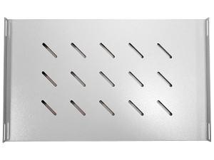 Полка бокового крепления 470х300мм, серая (для шкафов глубиной 600 мм), GYDERS GDR-BSS-300G